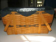 Longaberger 1999 Collector's Club Family Picnic Basket Combo - Vgc