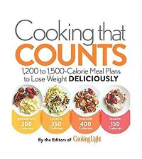 Cooking that Counts: 1200 to 1500-Calorie Meal Plans to Lose We... Free Shipping