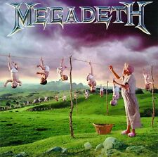 Audio CD - MEGADETH - Youthanasia - USED Like New (LN) WORLDWIDE SHIPPING