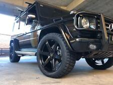 G63 AMG WHEELS AND TYRES SIMMONS S6 22INCH 285/45/22 NITTO TERRA GRAPPLER