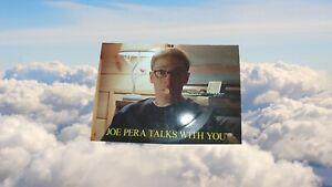 As Seen On Adult Swim Promo Joe Perra Talks With You 33rpm Record Single Card