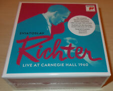 SVIATOSLAV RICHTER-LIVE AT CARNEGIE HALL 1960 COMPLETE-13xCD 2017-NEW & SEALED