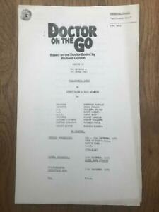 Richard Gordon 1975 London Weekend Television Script for Doctor On the Go Ep 4