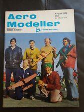 Aero Modeller August 1975 magazine - vintage hobby model aircraft