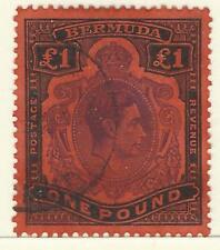 BERMUDA KGV1 1938-53 £1 USED