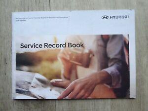HYUNDAI i800 BLANK SERVICE BOOK PRINT 2018 / 2019 GENUINE