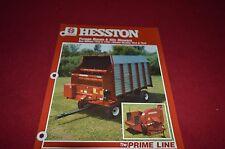 Hesston 7322 7326 Forage Box 7014 7015 Silo Blower Dealer's Brochure DCPA2 ver2