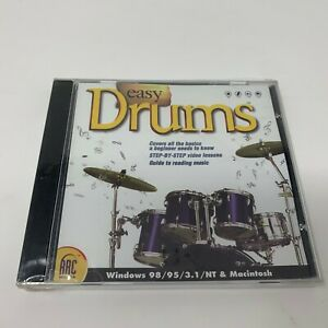 Easy Drums - For MAC & PC (BRAND NEW)