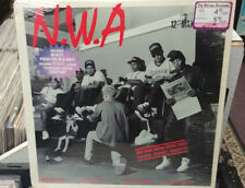 "RARE 1988 N.W.A. GANGSTA GANGSTA 12"" VINYL LP in Shrink HYPE"