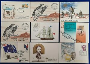 1990/91 MALTA Collection 9 SHC Cancelled - postal Cards- Postal stationery