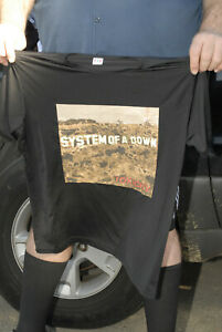 System of a Down album cover art t shirt decal SOAD Armenian heavy metal L
