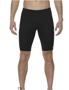 Asics Men's Running Shorts Sprinter Sports Baselayer Shorts - Black - New