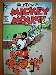Walt Disney's Mickey Mouse Comics from 1988 Gladstone Lot 234-239 SIX COMIC LOT