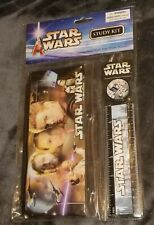 Vintage Star Wars Back 2 School Study Kit Attack of the Clones