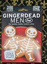 Genuine Fred GINGERDEAD MEN Cookie Cutter/Stamper NIB