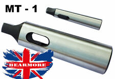 MT1 Morse Taper Adapter to MT2 Reducing Adapter Drill Sleeve for Lathe Mil @UK