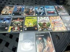 Joblot of psp games and movies