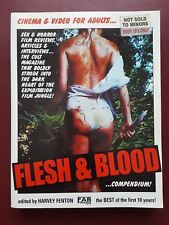 Flesh & Blood Compendium - Cinema & Video For Adults - Fab Press 456 Pages Book