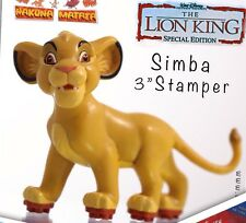 Lion King PVC Figure stamper By Applause Disney Simba Before The  Lion Guard