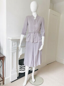 1940s Original Vintage Ladies Suit Small