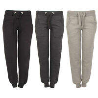 Ladies Joggers Jogging Tracksuit Bottoms Trousers Sizes Yoga Gym Sports Training
