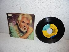Kenny Rogers : When You Put Your Heart In It 45 Record Single w/Picture Sleeve