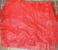 (Preis/St. = 0,18€) Raschelsäcke 100 Stück rot   Fruchtsack, Kartoffelsack