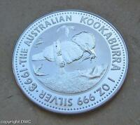 Coin Münze 1 Dollar Australien 1993 Kookaburra 999 Silber