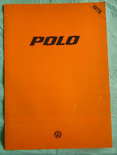 VW Polo range brochure 1978