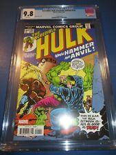Incredible Hulk #182 Facsimile Reprint Wolverine CGC 9.8 NM/M Gorgeous gem Wow