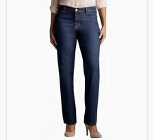 LEE Womens TALL Relaxed Straight Leg Blue JEANS Size 4 Style 3051889 NWT