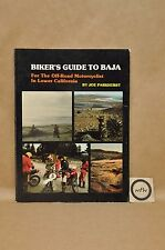 Vtg 1980 Motorcycle Bikers Buyers Guide To Baja History Maps Book By Parkhurst