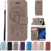 New PU Leather Card Holder Wallet Flip Case Cover for Samsung Galaxy Note phones