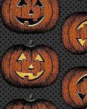 In The Beginning by Jason Yenter Hallowgraphix 4HG1 Pumpkins Cotton Fabric
