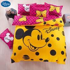 Disney Mickey mouse Bedding Set Duvet Cover pillowcase Minnie mickey cartoon