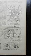 1923 82 Belgien Wiederaufbau 2 Hefte Veurne Walburgiskirche