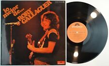 RORY GALLAGHER - TOP RARE SPAIN 1975 MINT UNPLAYED * LP MISSPELT UNIQ.C THE BEST