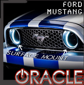 Oracle White LED Halo Kit Grille Style Fog Light For 2013-2014 Mustang 1334-001