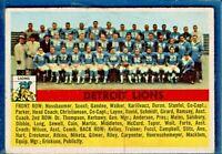 1956 Topps # 92 DETROIT LIONS Team Card - BV $18
