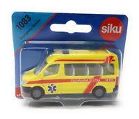 Siku metall Edition Tschechien 1083 Emergency Ambulance Bus Auslandsmodell
