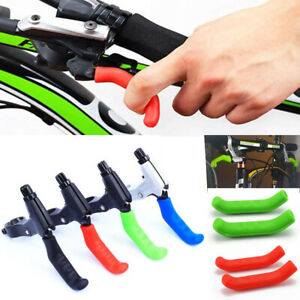 2pcs Bicycle Brake Handle Lever Cover Protector Mountain MTB Bike Grips Sleeve