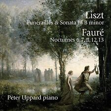 Peter Uppard - Liszt: Funerailles & Sonata In B Minor / Faure [New CD] UK - Impo