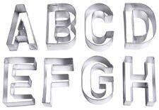 Emporte-pièce lettres, Grand, en fer-blanc, ensemble de 26 A jusqu'à Z