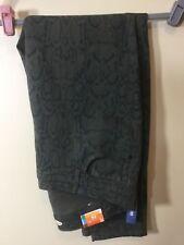 Old Navy Rock Star Skinny Olive Green Animal Cheetah Print Jeans Sz 18 Plus Size