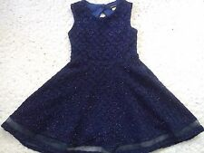 AMAZING RIVER ISLAND PARTY SUMMER HOLIDAY GIRL SKATER DRESS 3/4 YRS