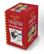 Diary of a Wimpy Kid 12 Book Slipcase By Jeff Kinney