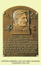 Postcard Honus Wagner Baseball HOF Hall of Fame Pittsburgh Cooperstown MINT