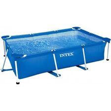 Intex Family Schwimmbecken Swimmingpool Stahlrohrbecken 260x160x65cm Pool