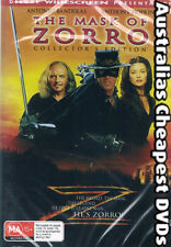 The Mask Of Zorro DVD NEW, FREE POSTAGE WITHIN AUSTRALIA REGION ALL