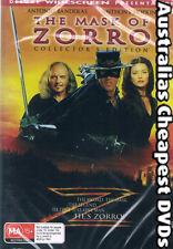 The Mask Of Zorro DVD NEW, FREE POSTAGE WITHIN AUSTRALIA REGION ALL